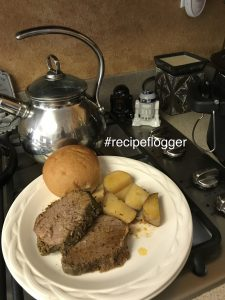 Tri-Tip slow cooked with potatoes