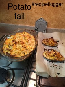 Twice baked potato deviation